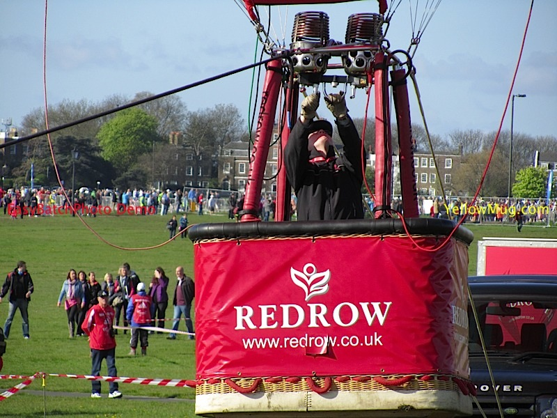 John Tyrell gallantly tethers Redrow