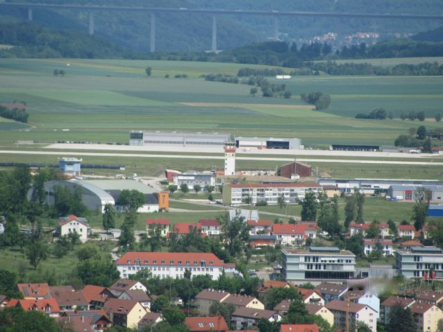 Wurth Airport from the hill