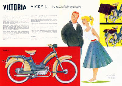 Vicky-L german advert