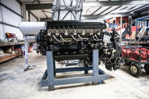 Phil's Merlin engine G-BYDL