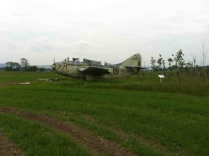 Fairey Gannet RAF Errol