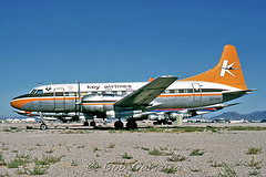 5 G-CONV Key Airlines N28KA