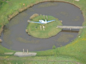 Camp Hill crashed plane