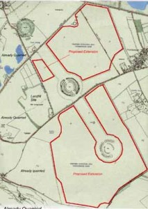 thornborough map