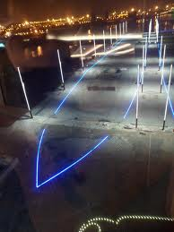 14 titanic slipway at night