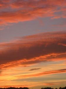 1 november sunset
