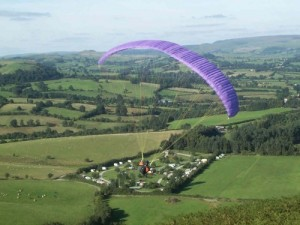 7 Paragliding Fforest Fields