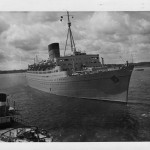 14 Coronia arriving southampton 1963