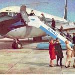 4 BOAC Boeing 707 postcard