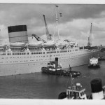 7 Coronia docking southampton 1963