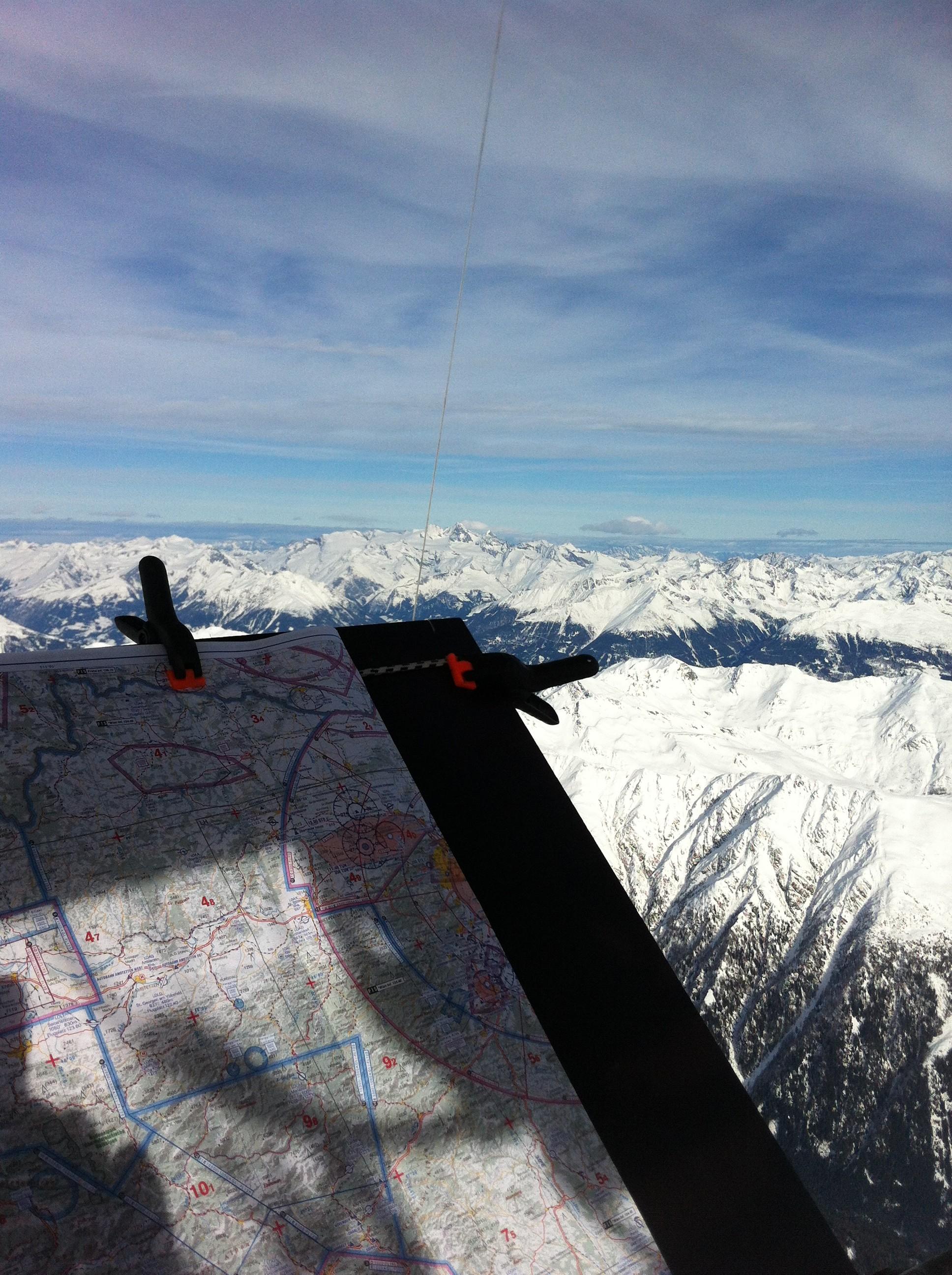 6 mountain flying balloon Alps