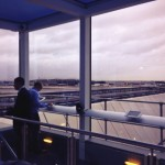 2 Terminal 4 spotters lounge
