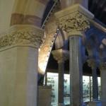 9 column beam detail oxford museum