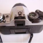 Canon AE1P rear