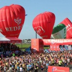 5 marathon balloons