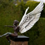 Hatfield Sculpture Diane Coates Naughty Angel III