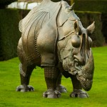 Hatfield Sculpture Dürers Rhinoceros Andy Sinclair