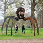 Hatfield Sculpture Wilfred Pritchard Giant Tarantula