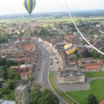 13 bedale High Street aerial shot