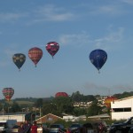 1 Tiverton balloon invasion 2014