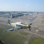 3 Hurricane at Helsinki Int Airport