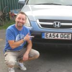 12 kevs EASA numberplate