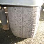 30 worn westfalia tyre