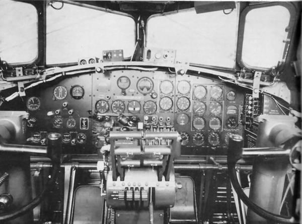 14 B17 cockpit
