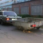 7 one wheel trailer towing