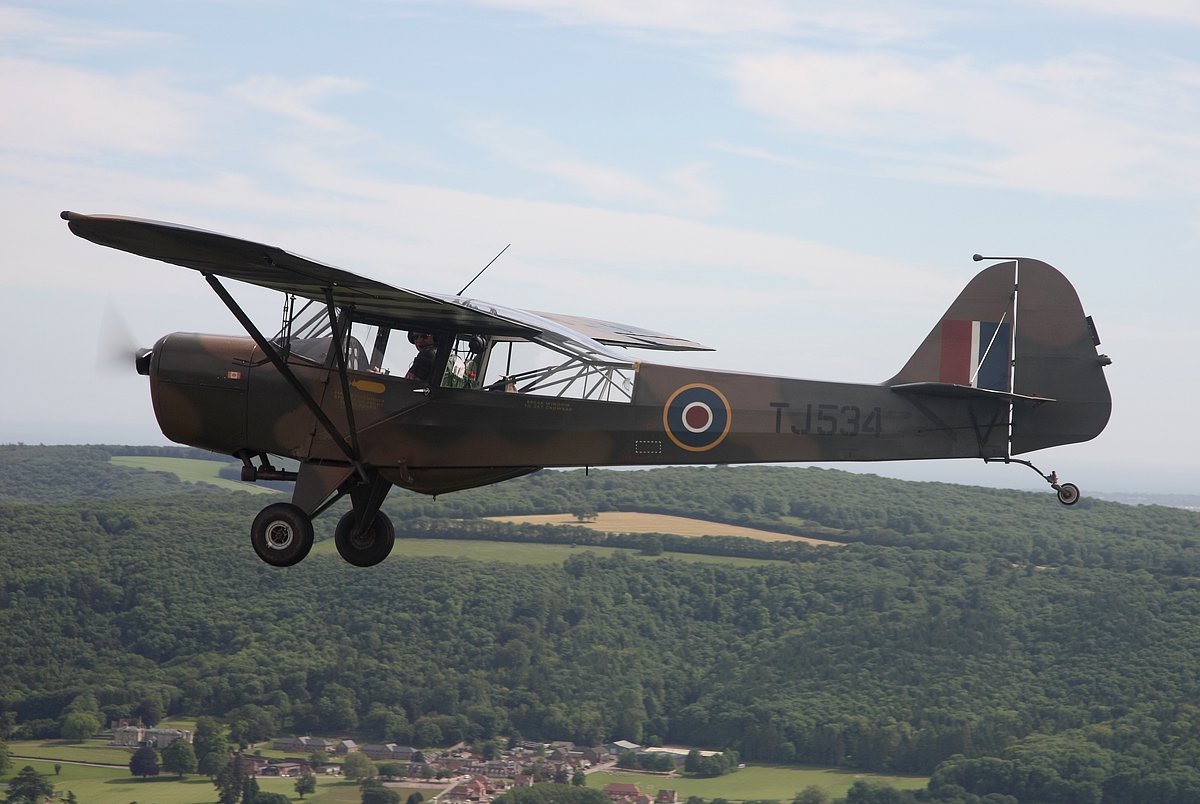 Tales Of Two Old Men And An Even Older Auster Flying