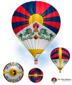 3 Design tibet balloon