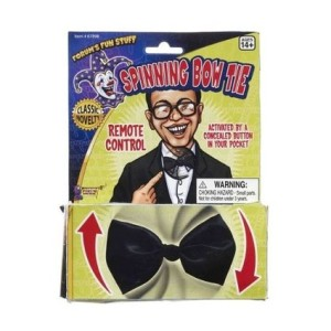 9 spinning bow tie