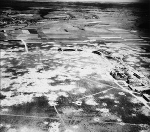 2 Schwabisch Halle airfield after raids 1945 Me262