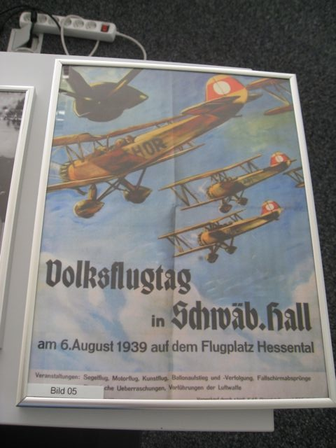 A air display 1939 Schwabisch Halle
