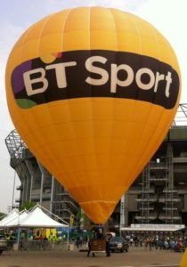 3 BT balloon twickenham