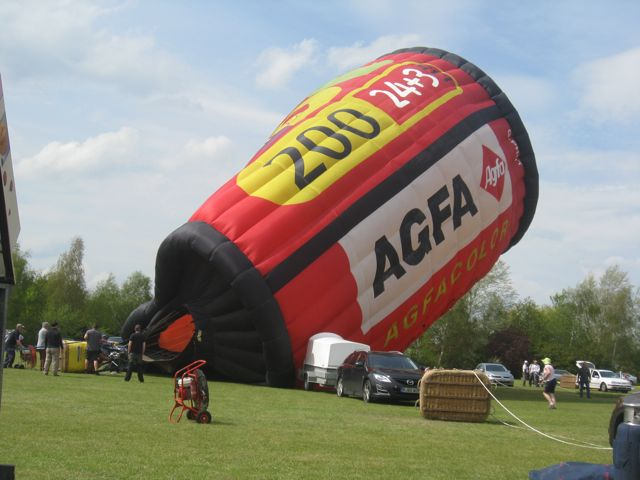9 Agfa film balloon